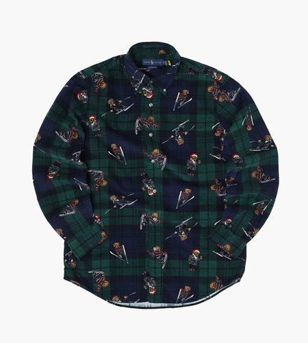 Polo Ralph Lauren Polo Ralph Lauren Clb Ds Long Sleeve Sport Shirt 4213 Blackwatch Bears