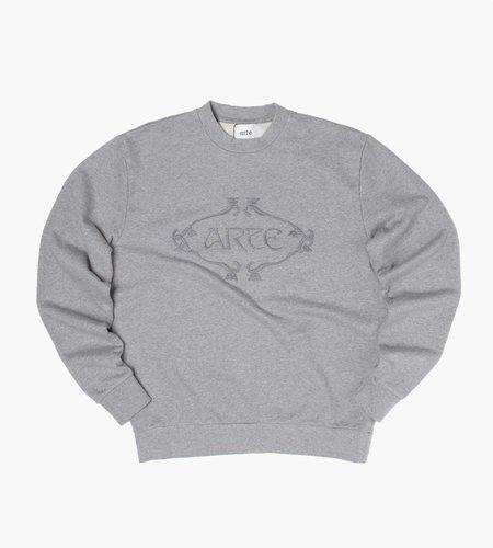 Arte Antwerp Arte Antwerp Castel Logo Orna Sweater Grey