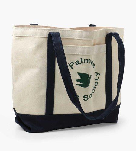 Palmes Palmes Society Tote Bag Navy