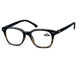 Vintage leesbril zwartbruin havanna