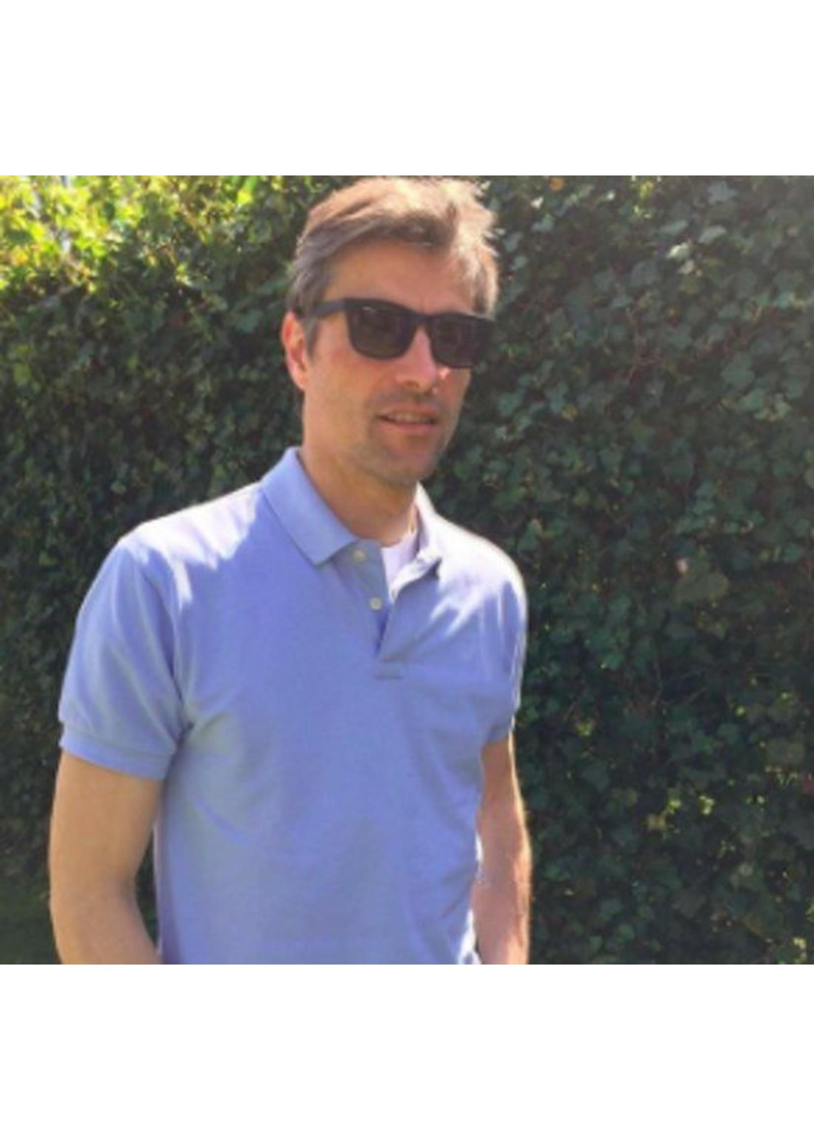 Babsee lees-/zonnebril.  Babsee Zonnebril met leesdeel model Neil Black