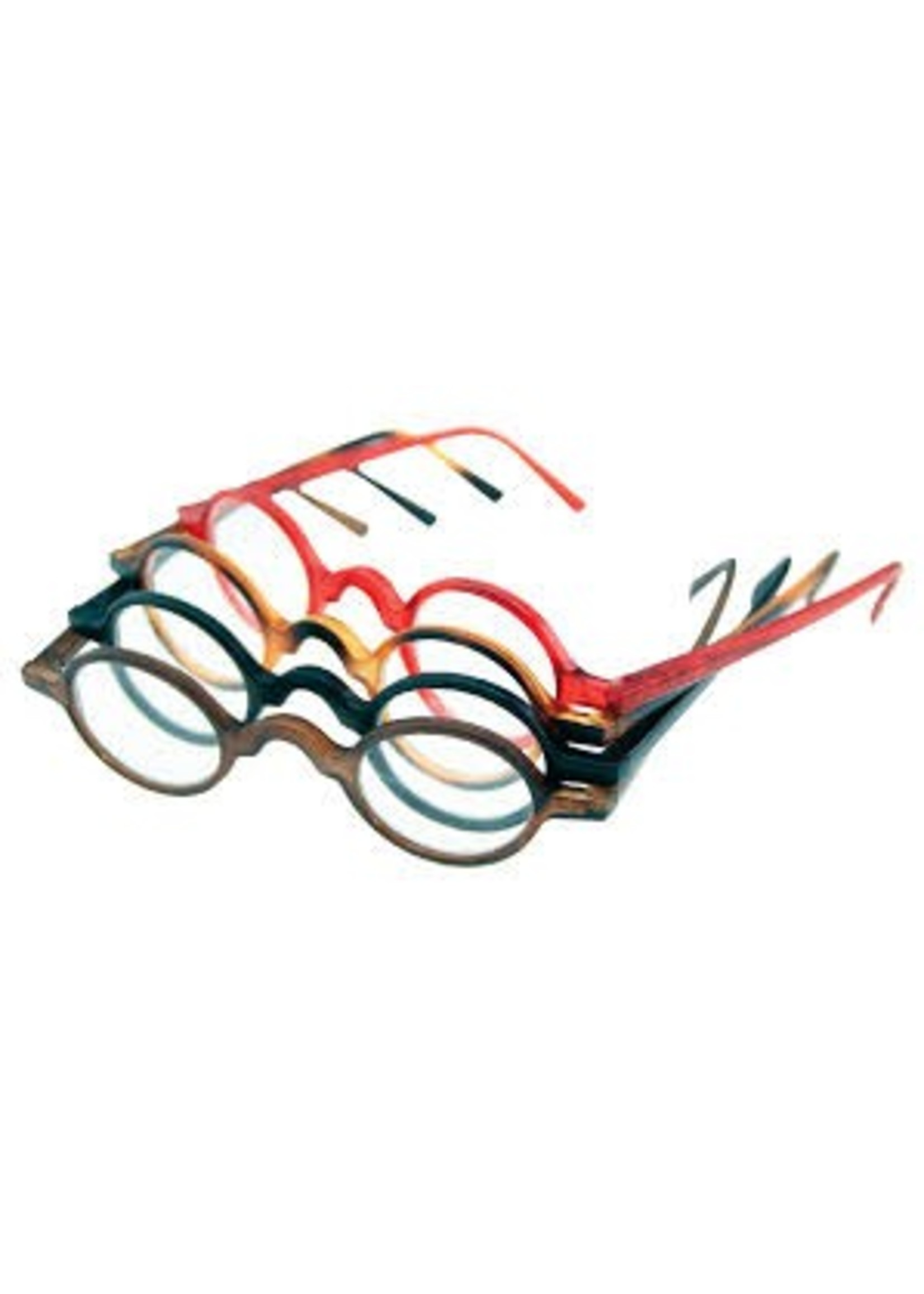 Leesbril Rondo Bruin