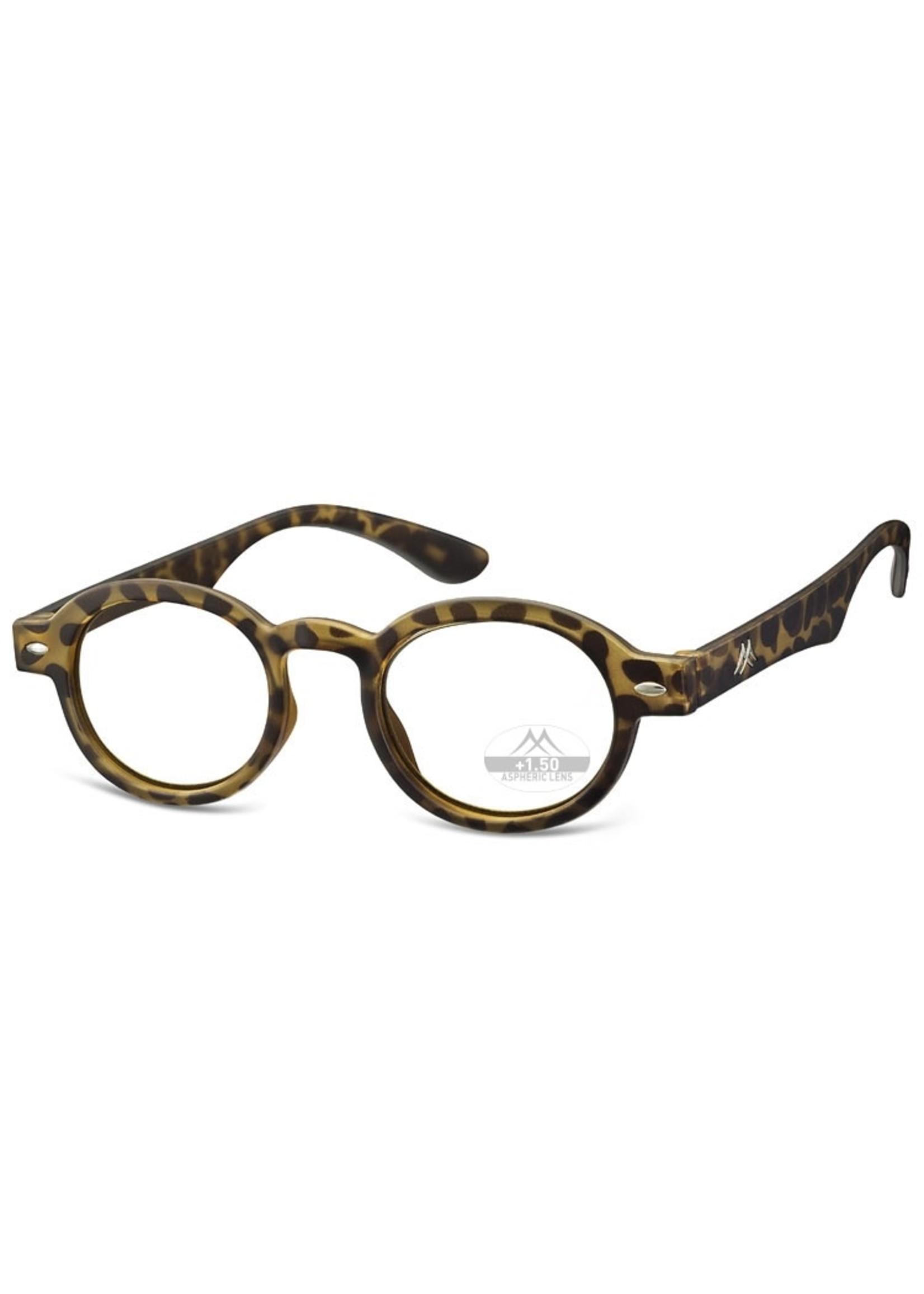 Dokters leesbril in turtle/schildpad