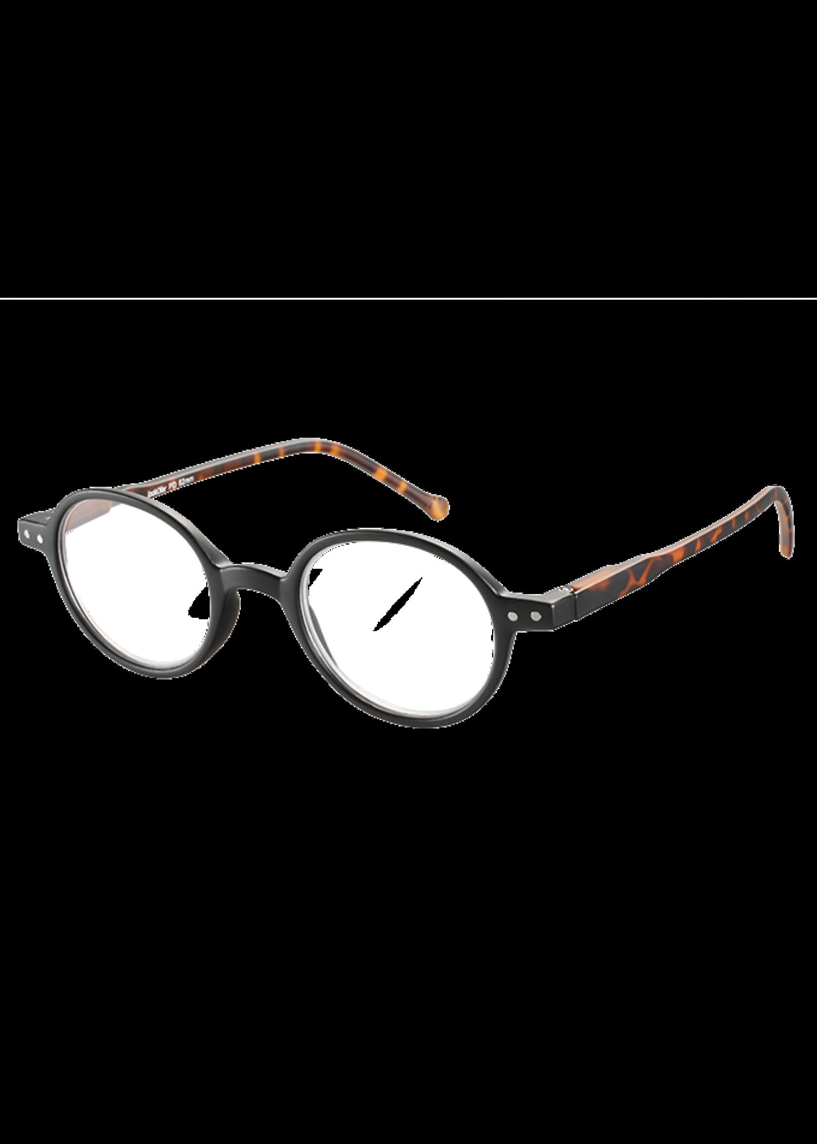Ofar Trendy leesbril JLE-0189 John Lennon Havanna groen