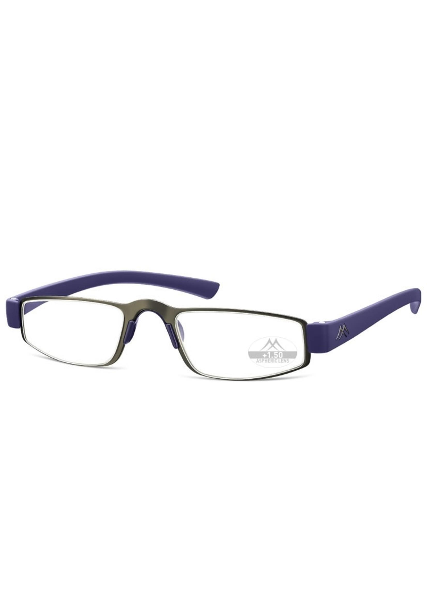 Sportieve leesbril Montana MR99  in  blauw/zwart