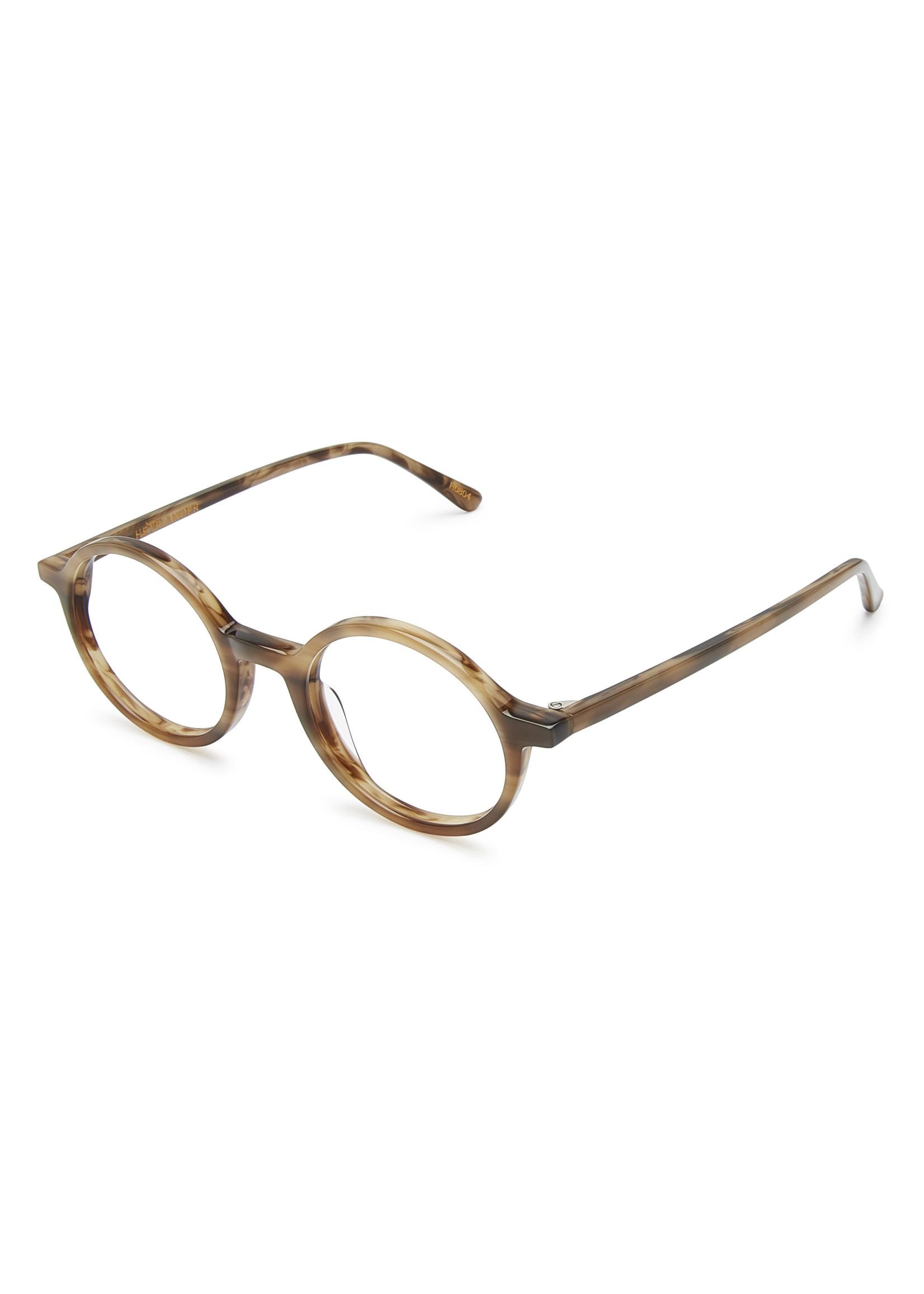 Heyelander Design Brillen  Heyelander Desigh Leesbril Vanora Dark Gentlemen's Brown