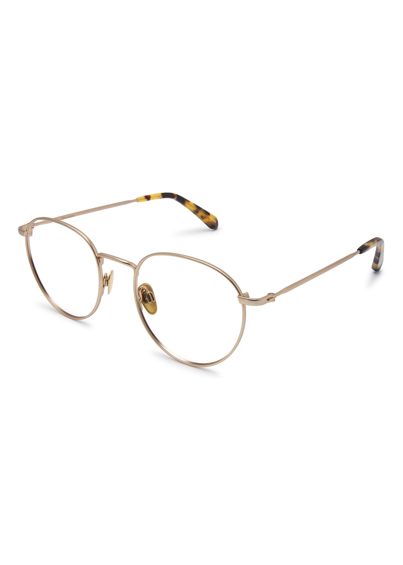 Heyelander Design Brillen  Heyelander Desigh Leesbril Boyd Titanium in light gold