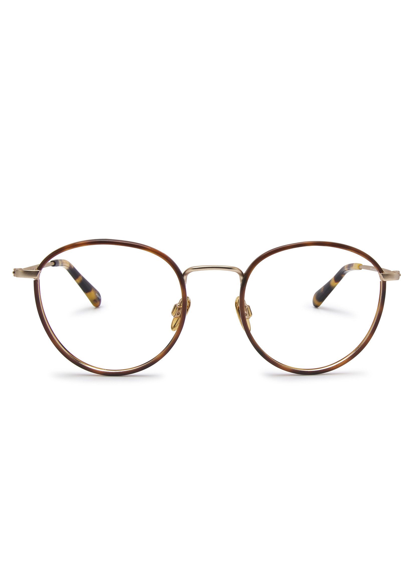 Heyelander Design Brillen  Heyelander Desigh Leesbril Boyd Titanium in ligh gold  windsor