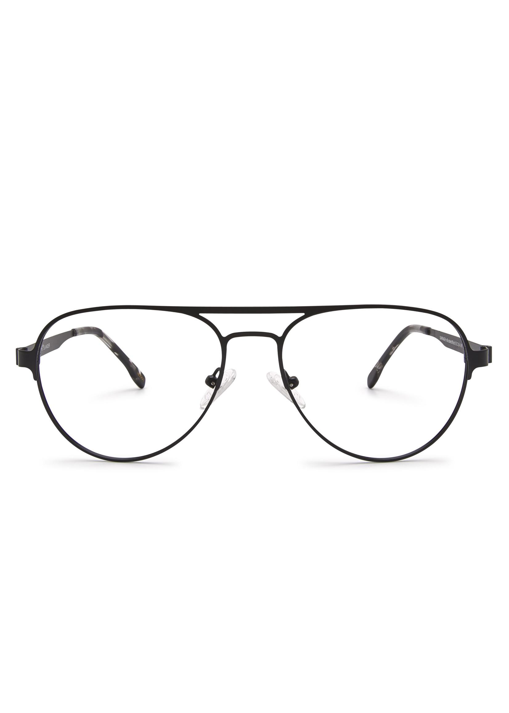Heyelander Design Brillen  Heyelander Desigh Leesbril Darragh Brushed Black