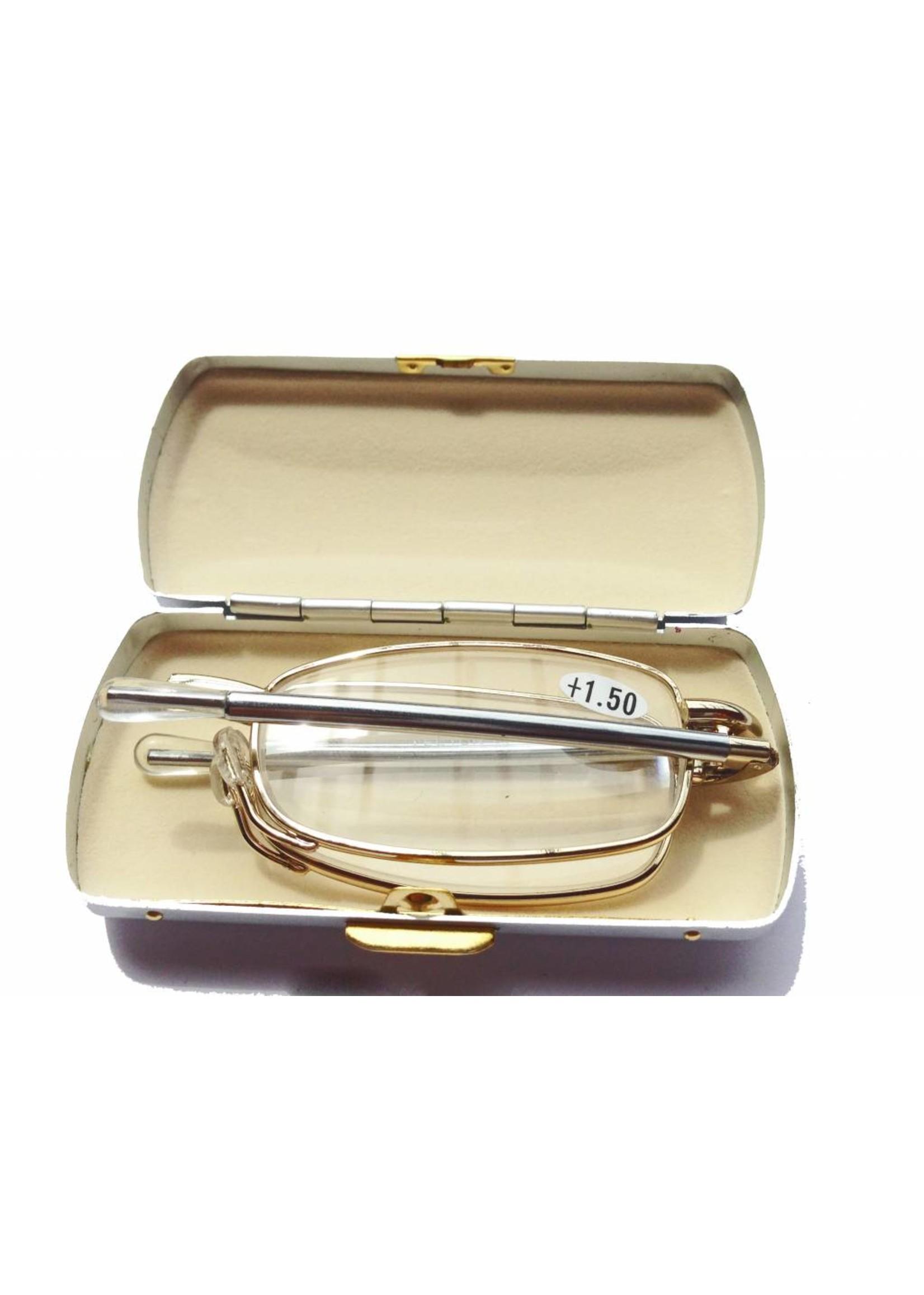 Leesbril opvouwbaar Lector 2 Zilverkleur