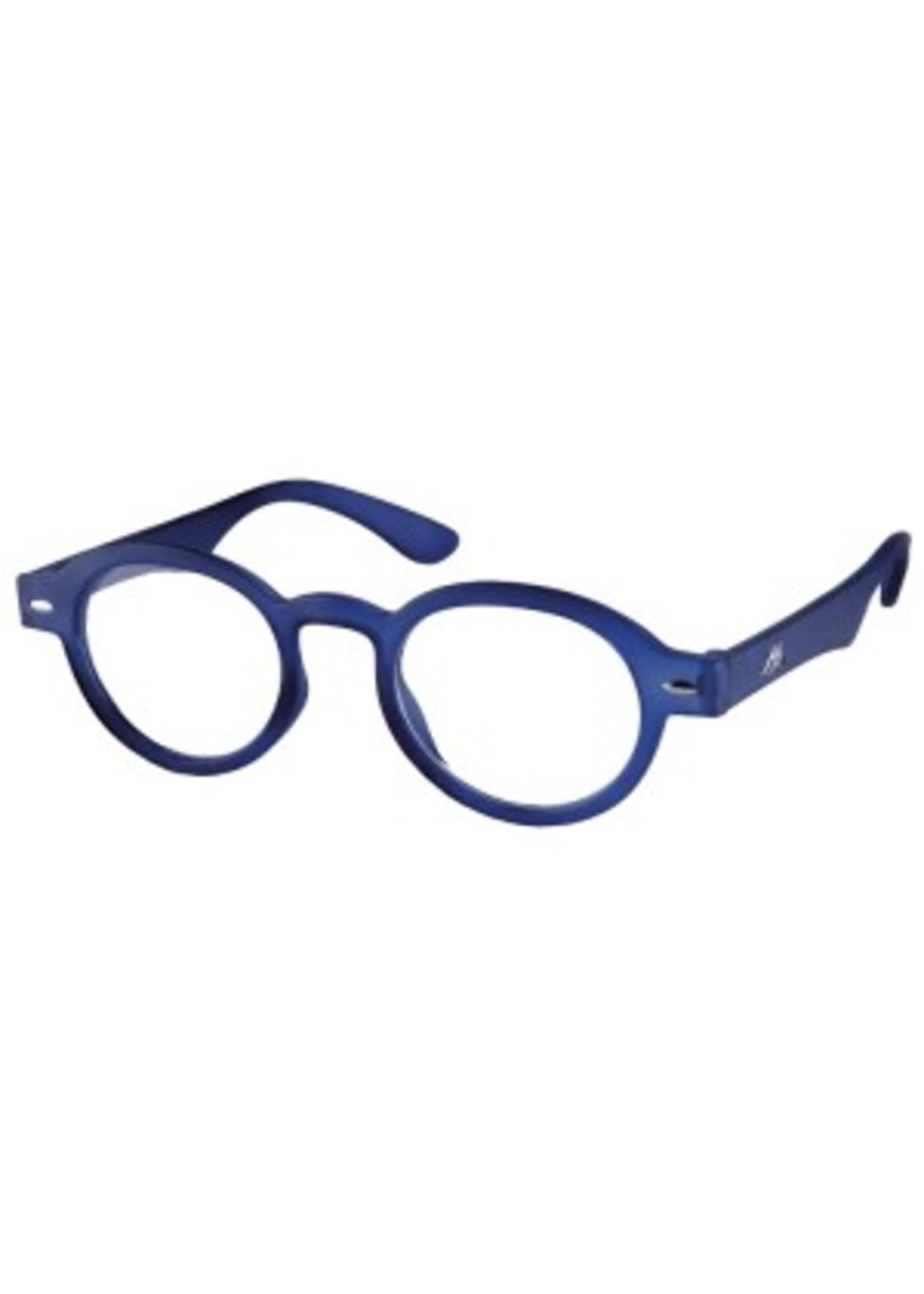 Dokters leesbril in blauw
