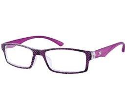Stijlvolle dames leesbril in paars
