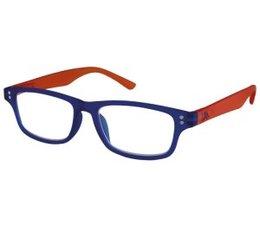 Moderne unisex blauw/oranje