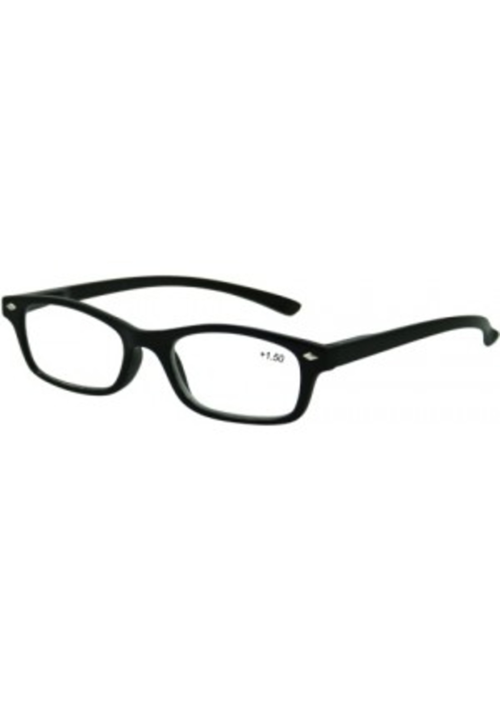 Trendy leesbril zwart