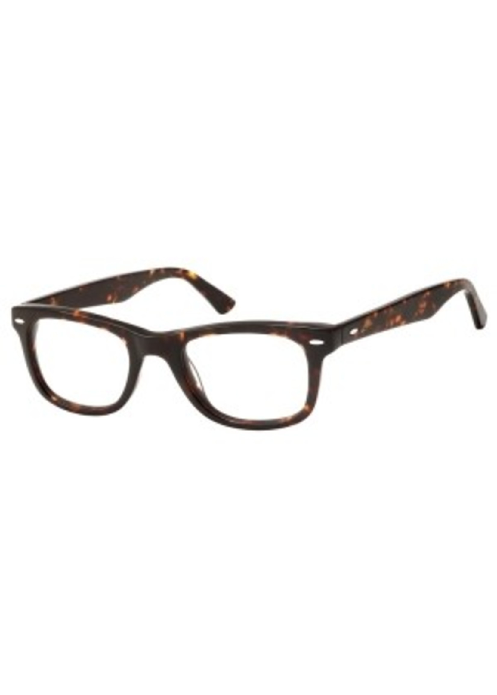 wayfarer leesbril in havanna bruin