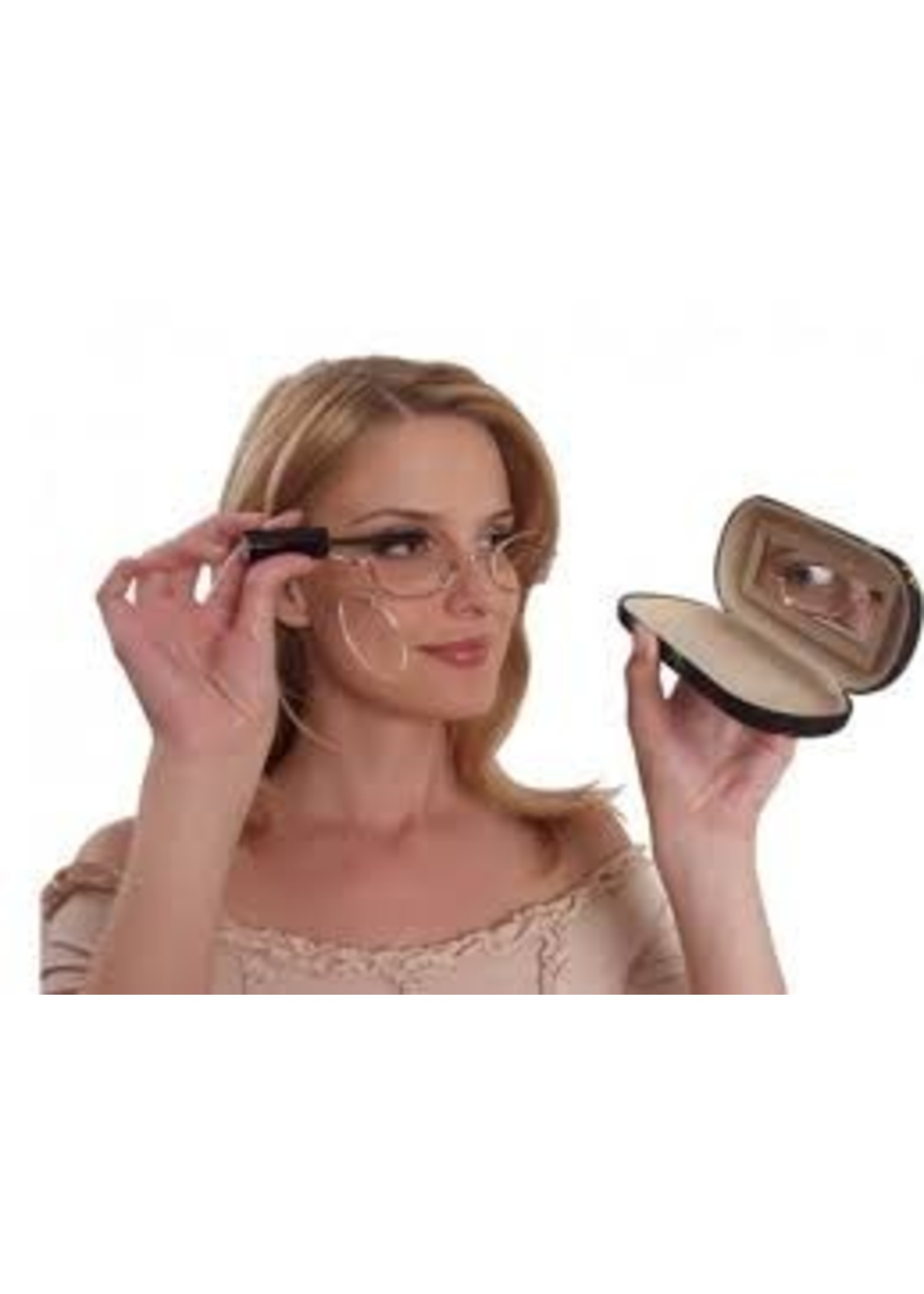 Make-up bril in goudkleur