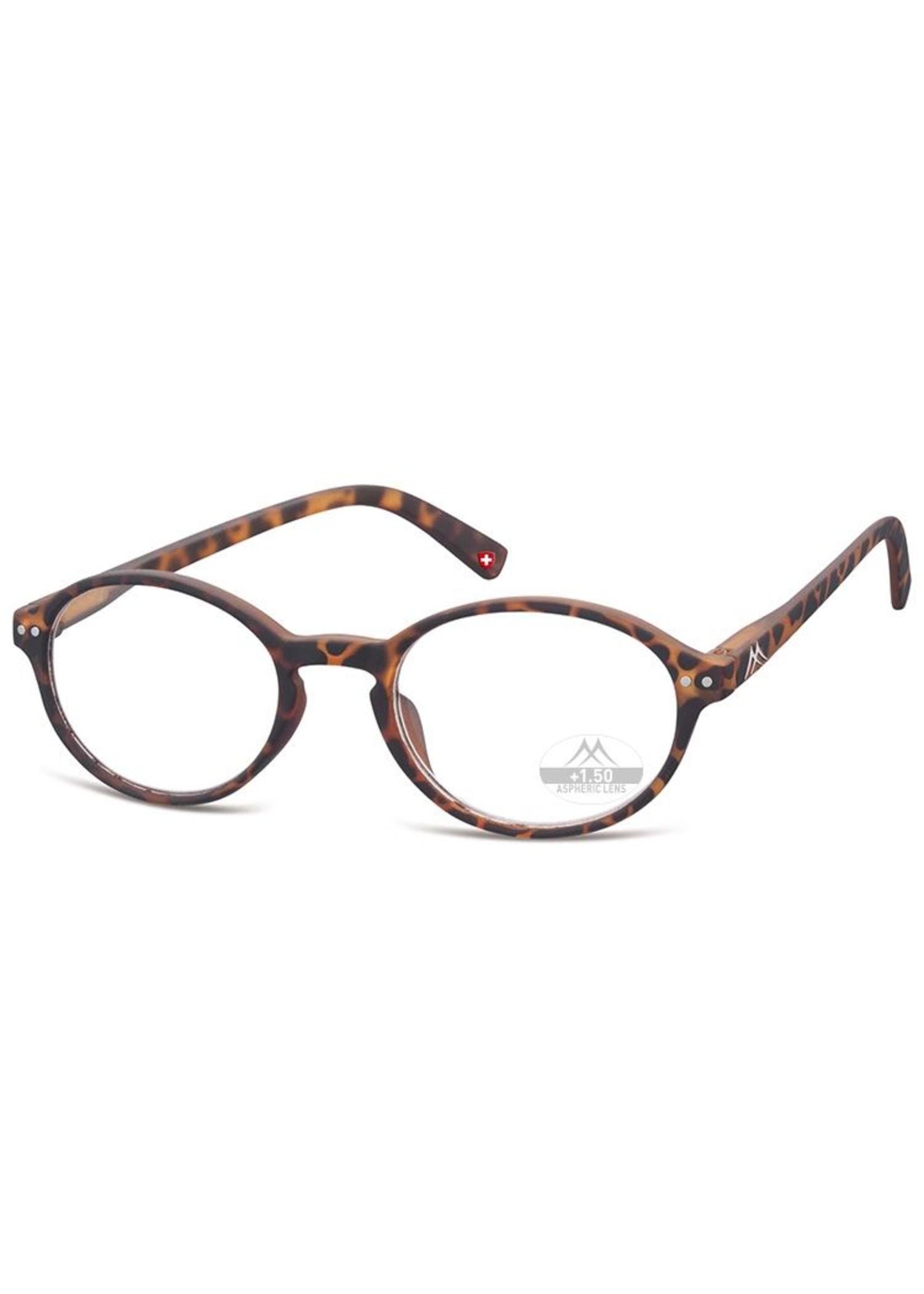 Trendy leesbril John Lennon havanna bruin