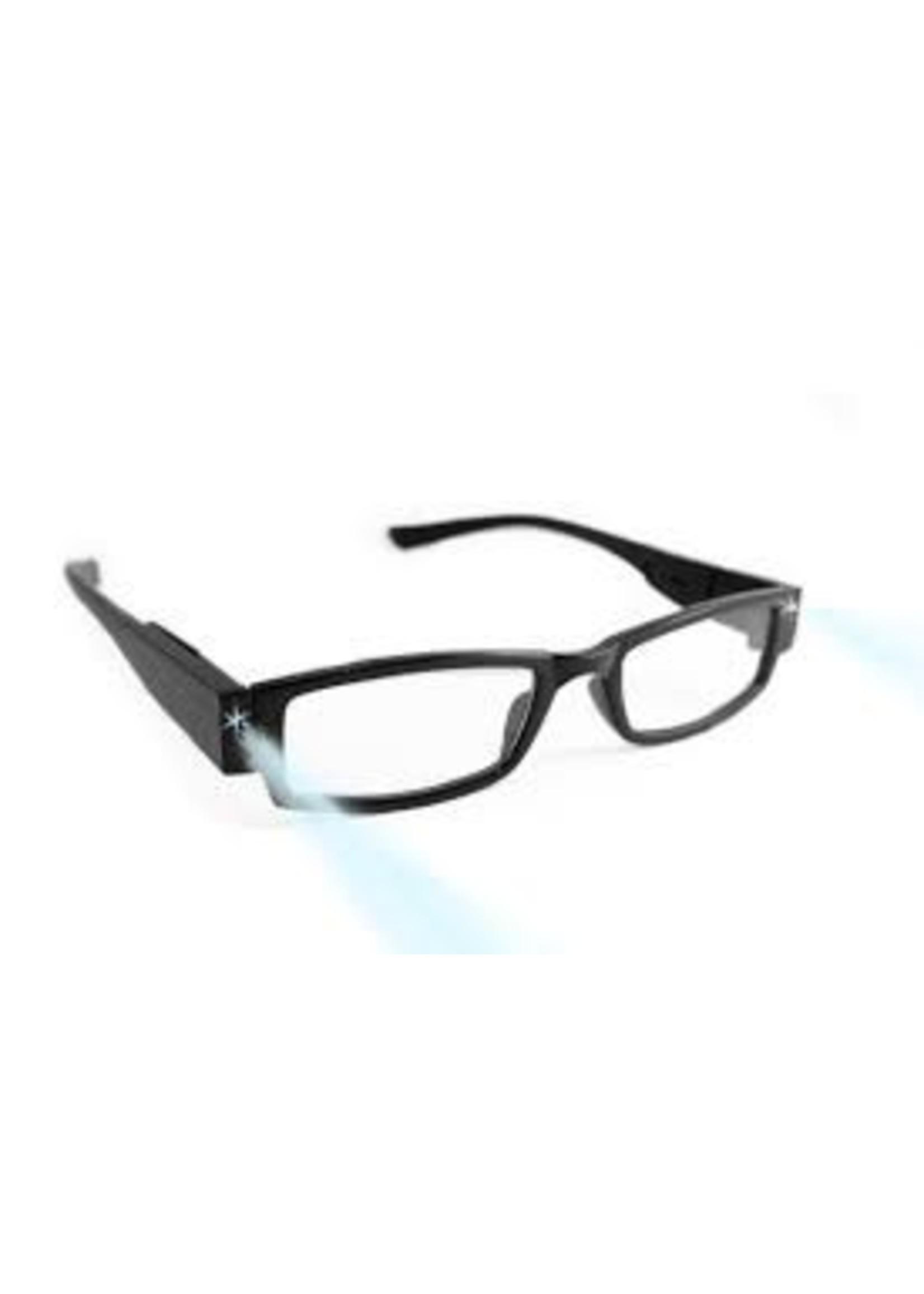 Led leesbril zwart