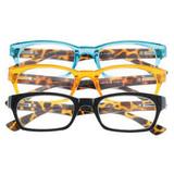 Leesbril modern rechthoekig