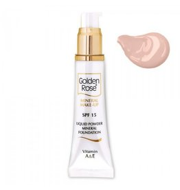 Golden Rose Mineral Liquid Foundation 4