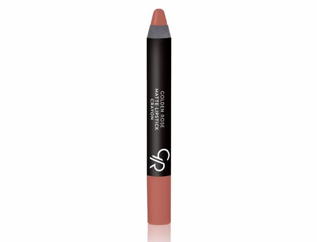 Golden Rose Crayon Matte Lipstick 17