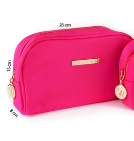 Golden Rose Make Up Bag Roze