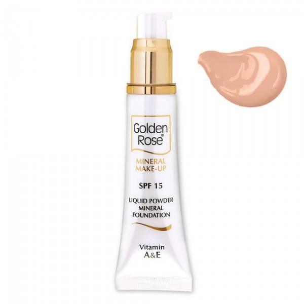 Golden Rose Mineral Liquid Foundation 3