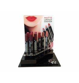 Golden Rose Display Crayon Matte Lipstick 20 Stuks