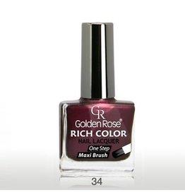 Golden Rose Rich Color Nagellak 34
