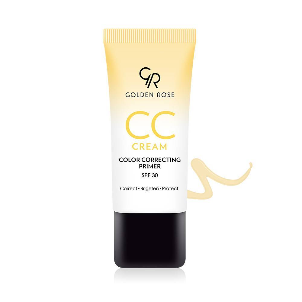 Golden Rose CC Cream Color Correcting Primer Yellow