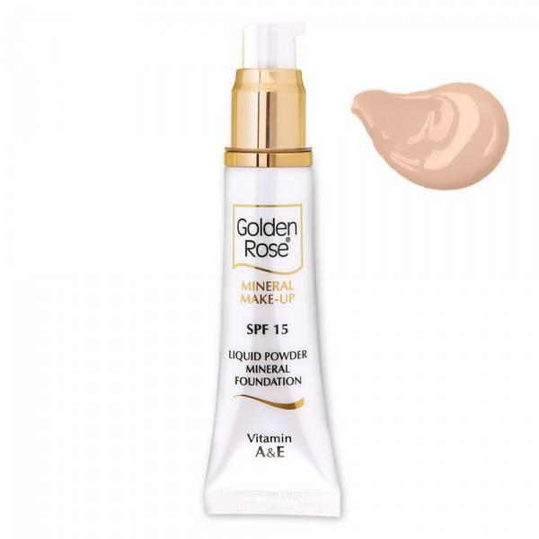 Golden Rose Mineral Liquid Foundation 1