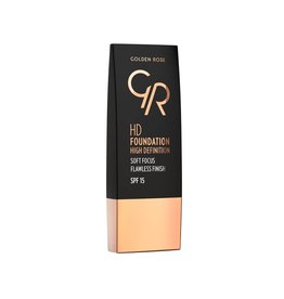 Golden Rose HD Foundation 114 Warm Honey