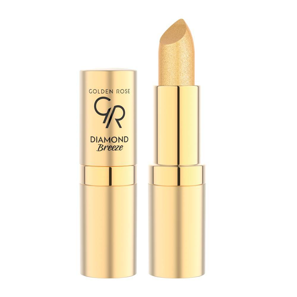 Golden Rose Diamond Breeze Shimmering Lipstick 01 24K Gold