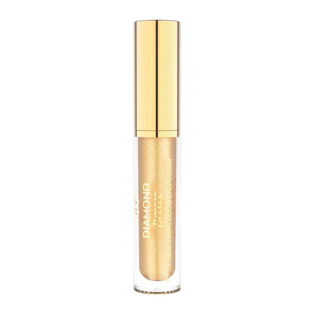 Golden Rose Diamond Breeze Shimmering Liquid Eyeshadow 01 24K Gold