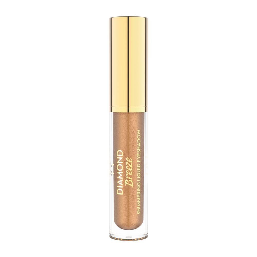 Golden Rose Diamond Breeze Shimmering Liquid Eyeshadow 02 Iconic Bronze
