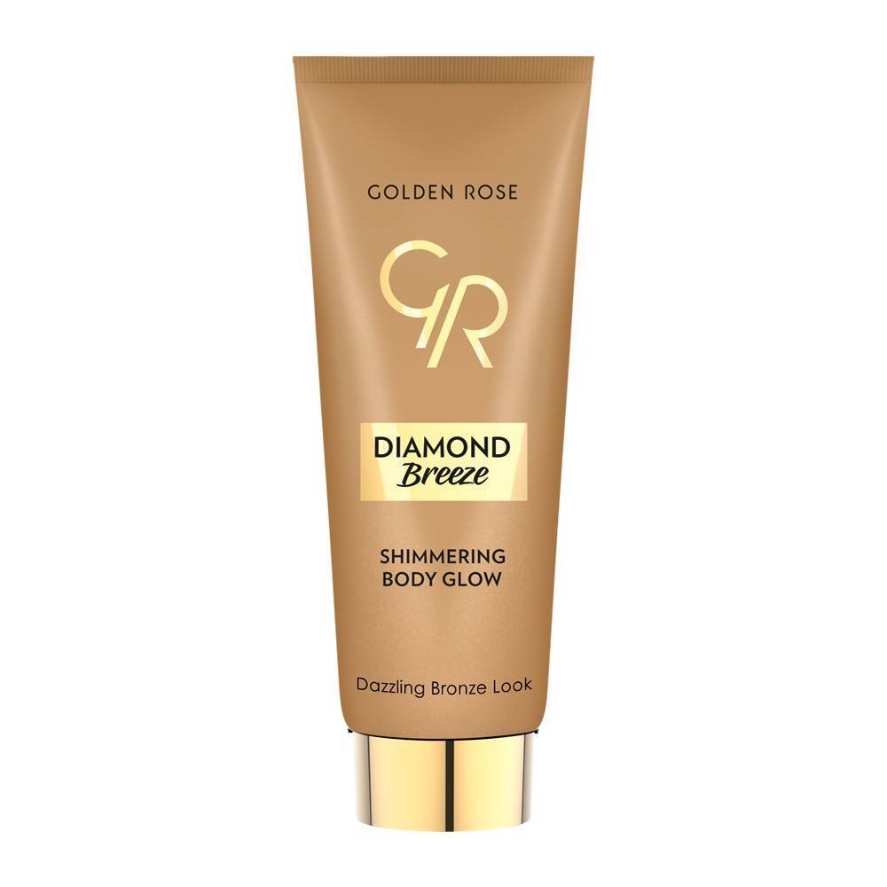 Golden Rose Diamond Breeze Shimmering Body Glow Bronze