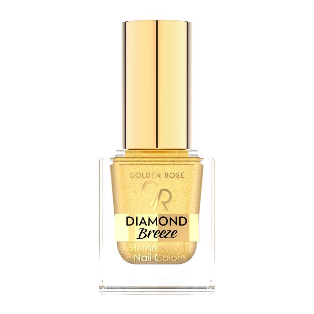 Golden Rose Diamond Breeze Shimmering Nail Color 01 24K Gold