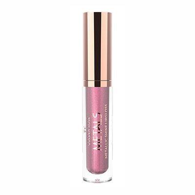 Golden Rose Metals Metallic Shine Lipgloss 01 Pink Rose