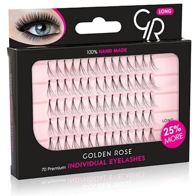 Golden Rose Individual Eyelashes Long valse wimpers