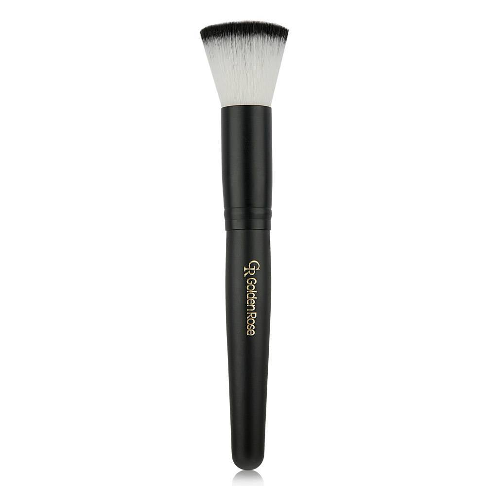 Golden Rose Round Face Brush