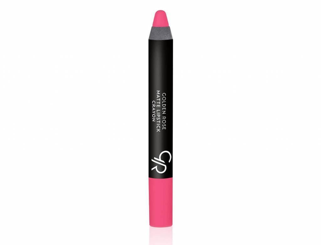 Golden Rose Crayon Matte Lipstick 16