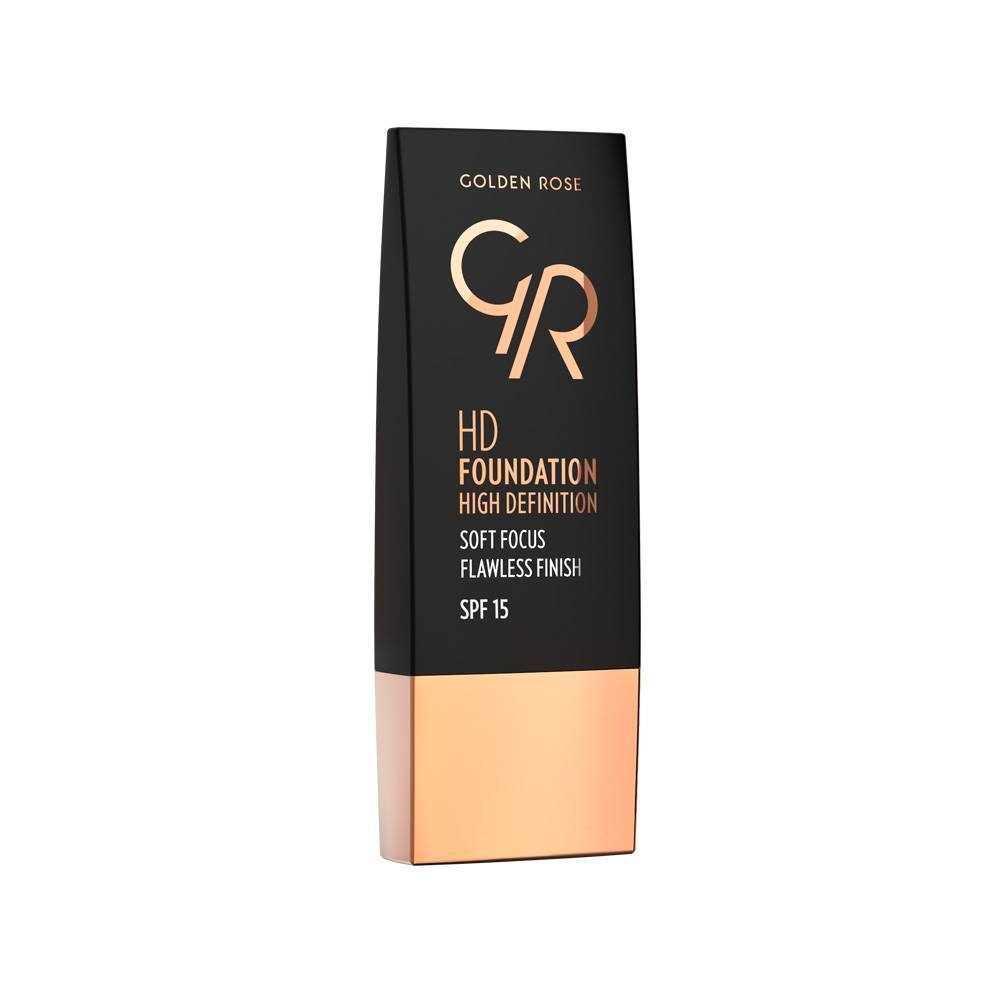 Golden Rose HD Foundation 114 Warm Honey