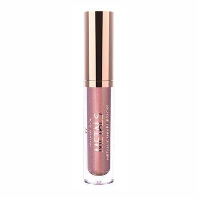 Golden Rose Metals Metallic Shine Lipgloss 03 Rose Gold