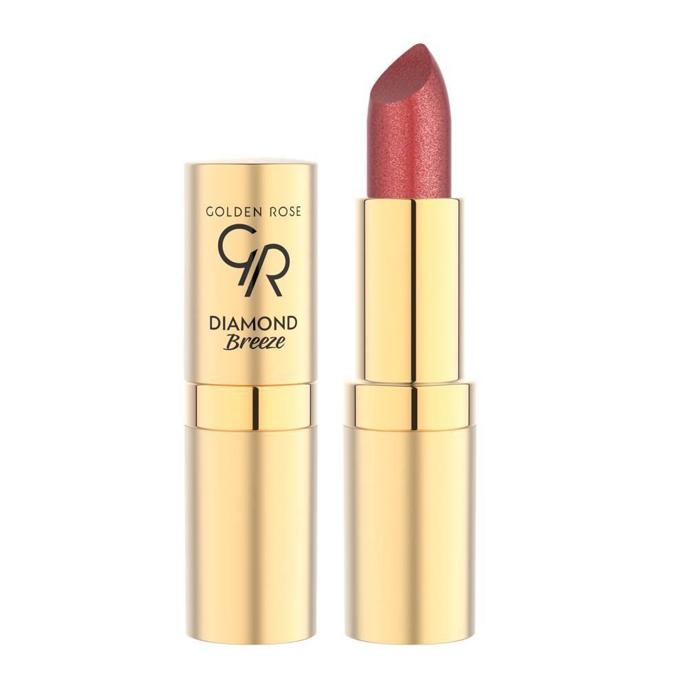 Golden Rose Diamond Breeze Shimmering Lipstick 02 Pink Sparkle