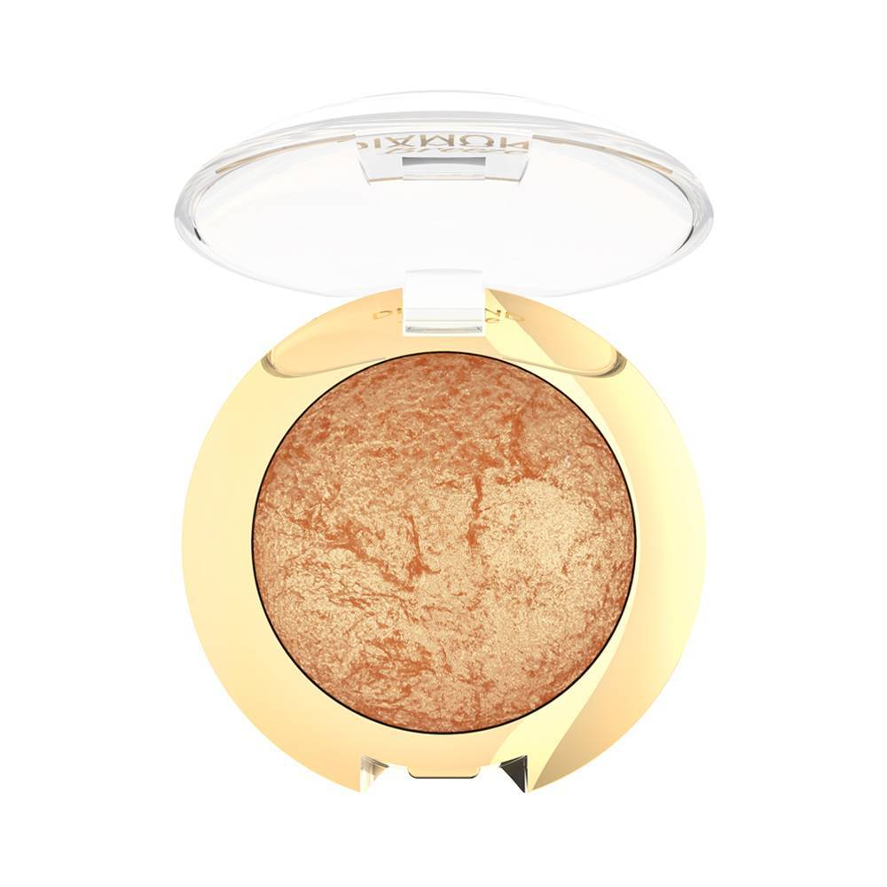 Golden Rose Diamond Breeze Shimmering Baked Eyeshadow 02 Dazzle Bronze