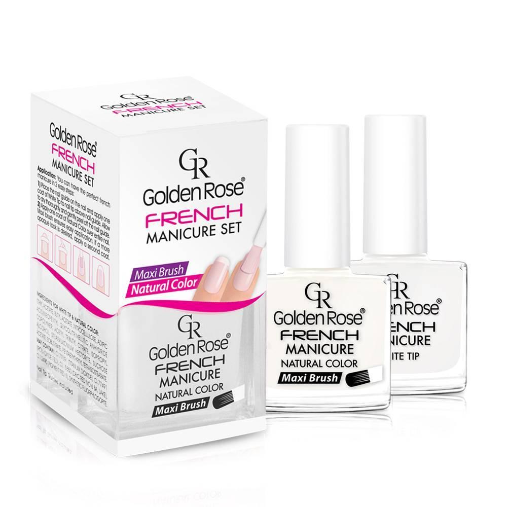 Golden Rose French Manicure Set 01