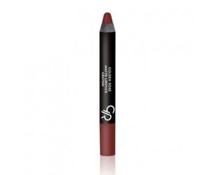 Golden Rose Crayon Matte Lipstick 1