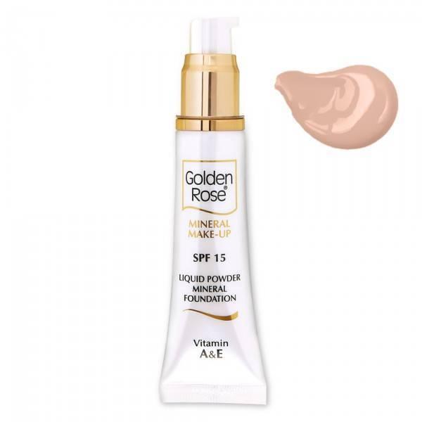 Golden Rose Mineral Liquid Foundation 5