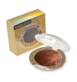 Golden Rose Terracotta Eyeshadow Glitter 209