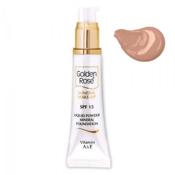 Golden Rose Mineral Liquid Foundation 8